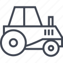 farm, farming, tool, tractor, vehicle icon