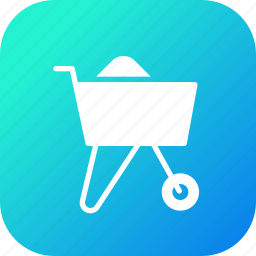 agriculture, buggy, garden, tool, wheelbarrow icon
