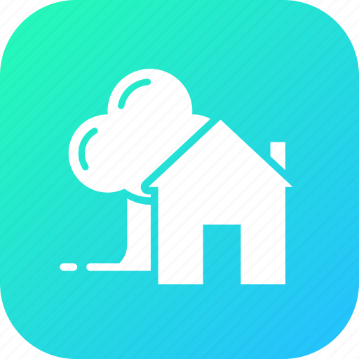 agriculture, farm, home, house, hut, tree icon