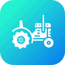 farm, work, vehicle, farming, agriculture, tractor icon