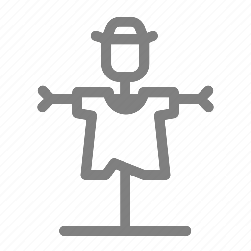 agriculture, crow, farm, puppet, scarecrow icon