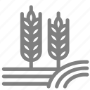 crop, farm, farming, growth, plant, rice icon