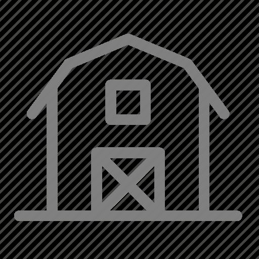 agriculture, barn, farm, farmhouse, stock, store icon