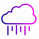 colud, rain, season, weather icon