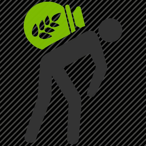 farm worker, farmer, harvest, job, porter, thief, work icon