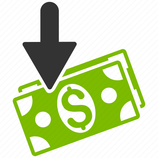 deposit, gain, income, money, payment, profit, salary icon