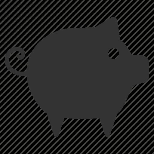Hog, pig, piggy, pork, snout, sow, swine icon - Download on Iconfinder