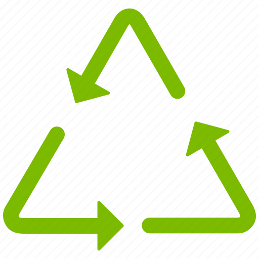 bio, cycle, dustbin, environment, garbage, recycle bin, recycling triangle icon