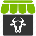 agriculture, bull, cattle, cow farm, farming, livestock, ox icon