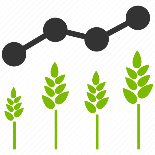 agriculture, chart, crop analytics, farm, graph, report, statistics icon