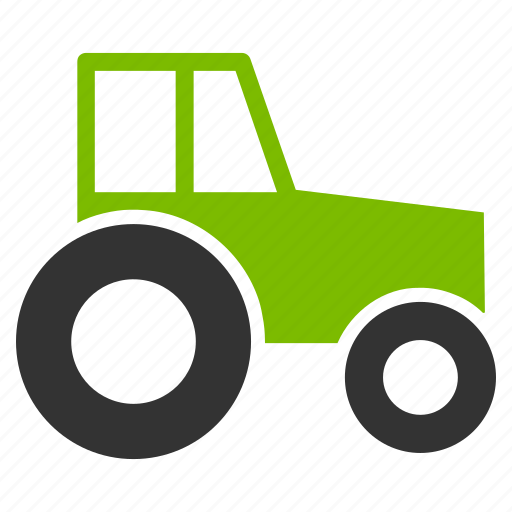 Agricultural, agriculture, farm, farmer, farming, machinery, wheeled tractor icon - Download on Iconfinder