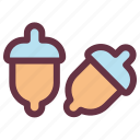 agriculture, dry, farm, food, garden, peanuts icon