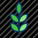 flower, leaf, nature, plant, tree icon
