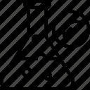dna, gmo, laboratory, modified, plant, research, test icon icon