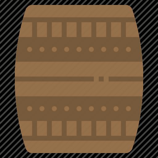 barrel, beer, oak, tank, wood icon