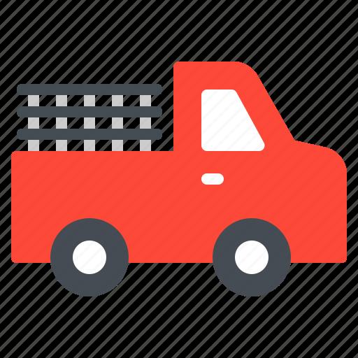 car, farm, pickup, transportation, vehicle icon