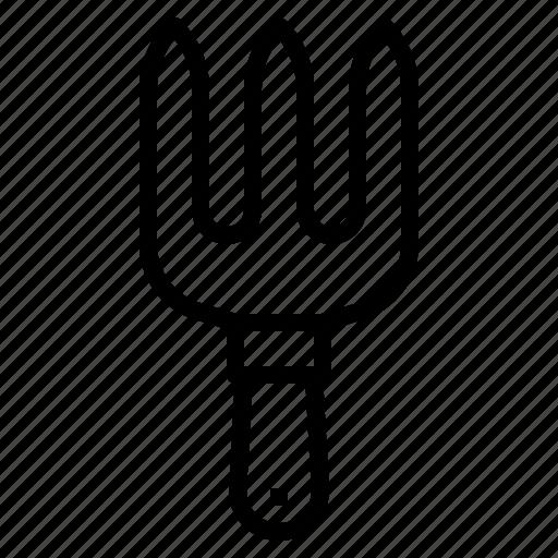equipment, farm, fork, gardener, tool icon