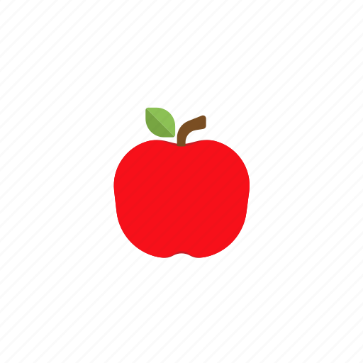.svg, apple, fruit, red icon