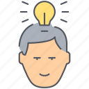 brainstorm, creative, idea, innovation, strategy, think tank, thinking icon