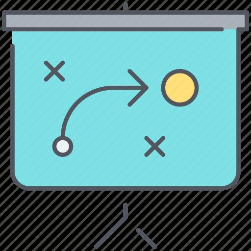 analysis, manoeuvre, presentation, scheme, strategy, tactic icon