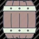 barrel, pirates, rum, ship, storage, wooden, stock