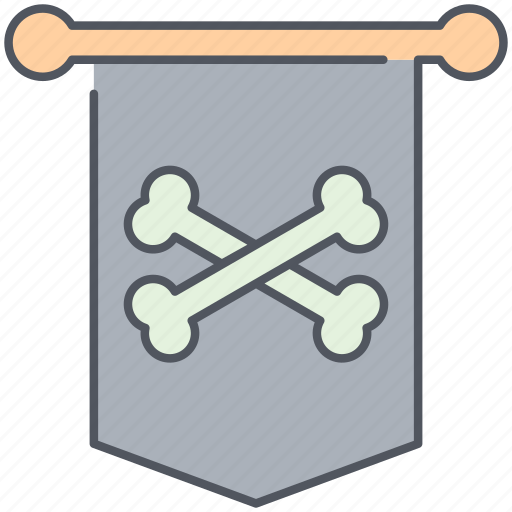 amblem, badge, conquer, country, emblem, pirate, territory icon