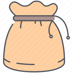 bag, gold, money, pirates, stolen, treasure, usury icon