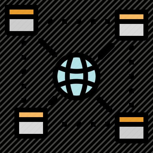 domain, internet, net, network, technology, worldwide icon