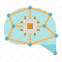 ai, chip, cpu, electronic, processor, technology icon