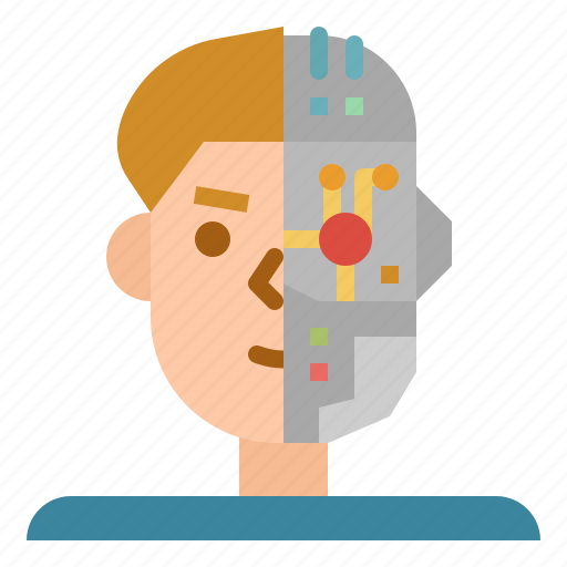 android, electronics, humanoid, machine, robot, science icon