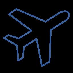 airplane, airport, departure, flight, journey, travel icon