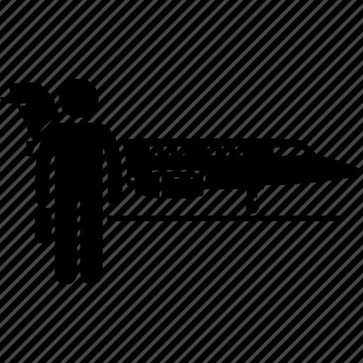 airplane, jet, plane, private icon