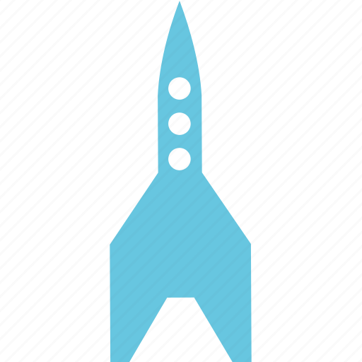 aviation, missile, rocket, space icon