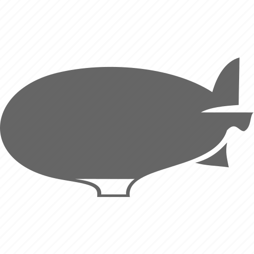 airship, aviation, transport, travel icon