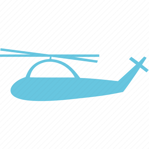 aviation, helicopter, traffic, transport icon