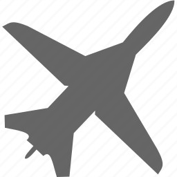 aircraft, aviation, plane, transport icon