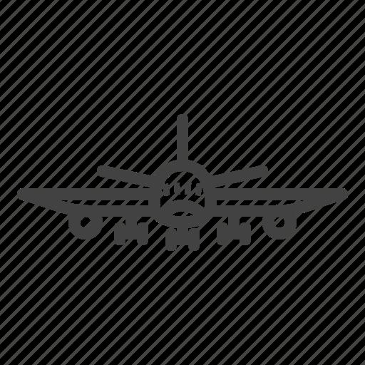 aircraft, airplane, jet, plane icon