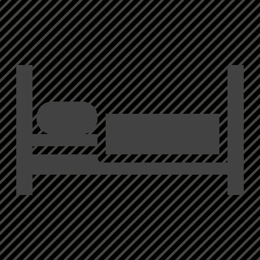 bed, hotel, sleep icon