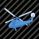 flight, helicopter, transport, travel