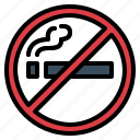 cigarette, no smoking, prohibition, smoke, smoking icon