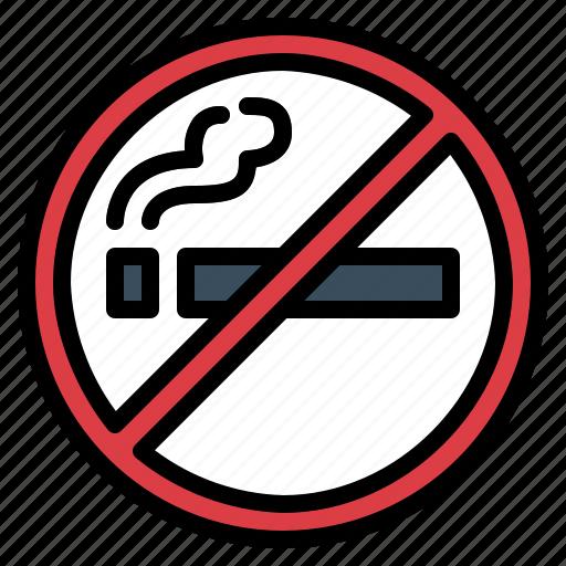 cigarette, no smoking, prohibition, smoke, smoking icon