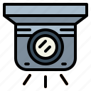 camera, recording, security, technology icon