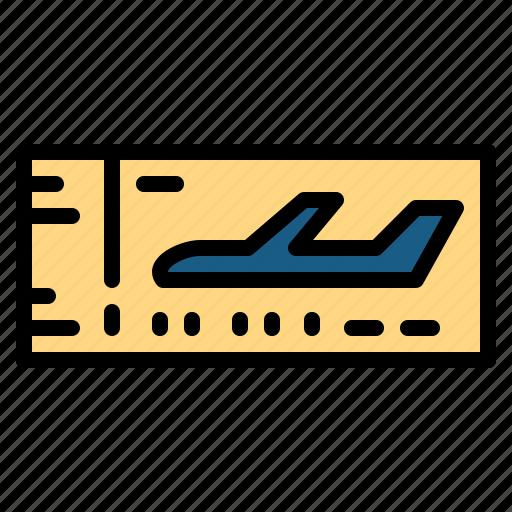 pass, show, ticket, travel icon