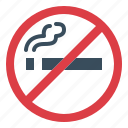 cigarette, no, prohibition, smoke, smoking icon