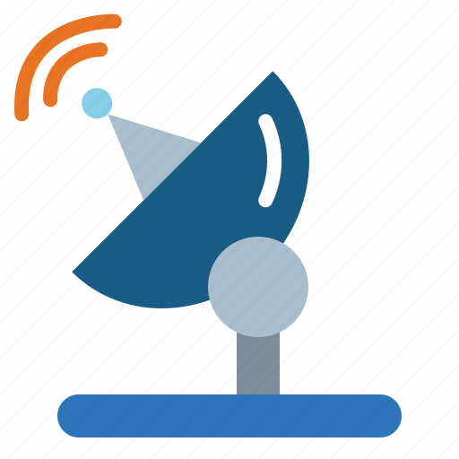 antenna, dish, radar, satellite, wireless icon