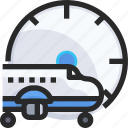 airport, landing, plane, time, travel icon