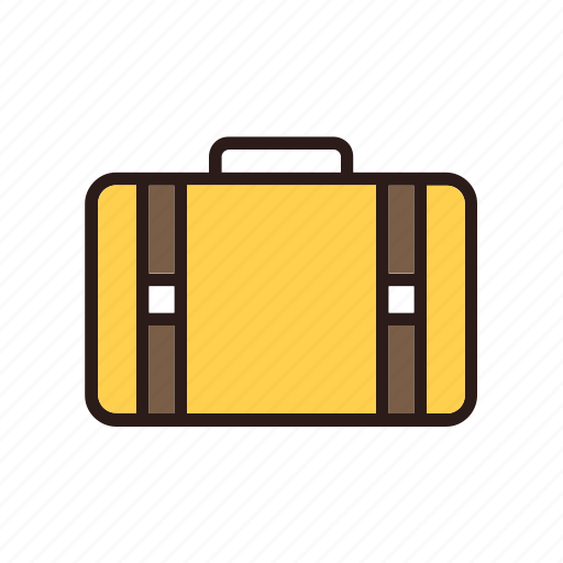 airplane, airport, baggage, flight, plane, transportation icon