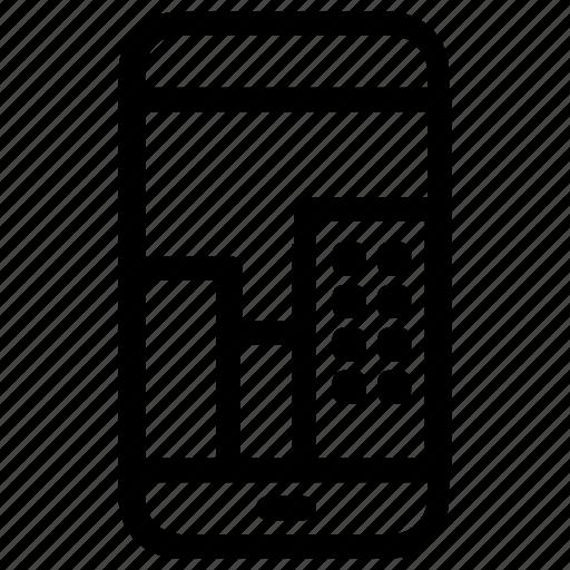 city, smartphone icon