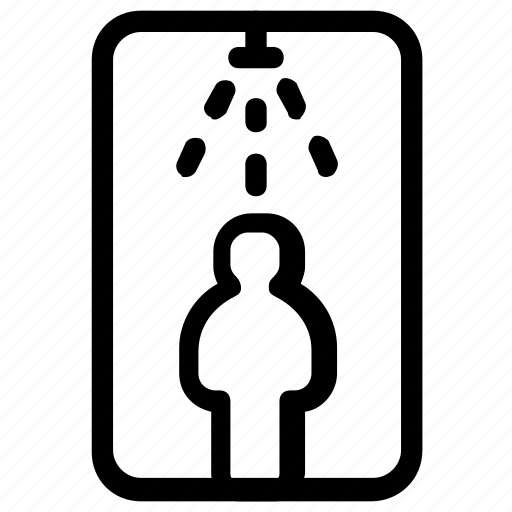scan, security icon