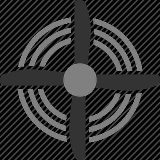 aviation, fan, propeller, turbine icon